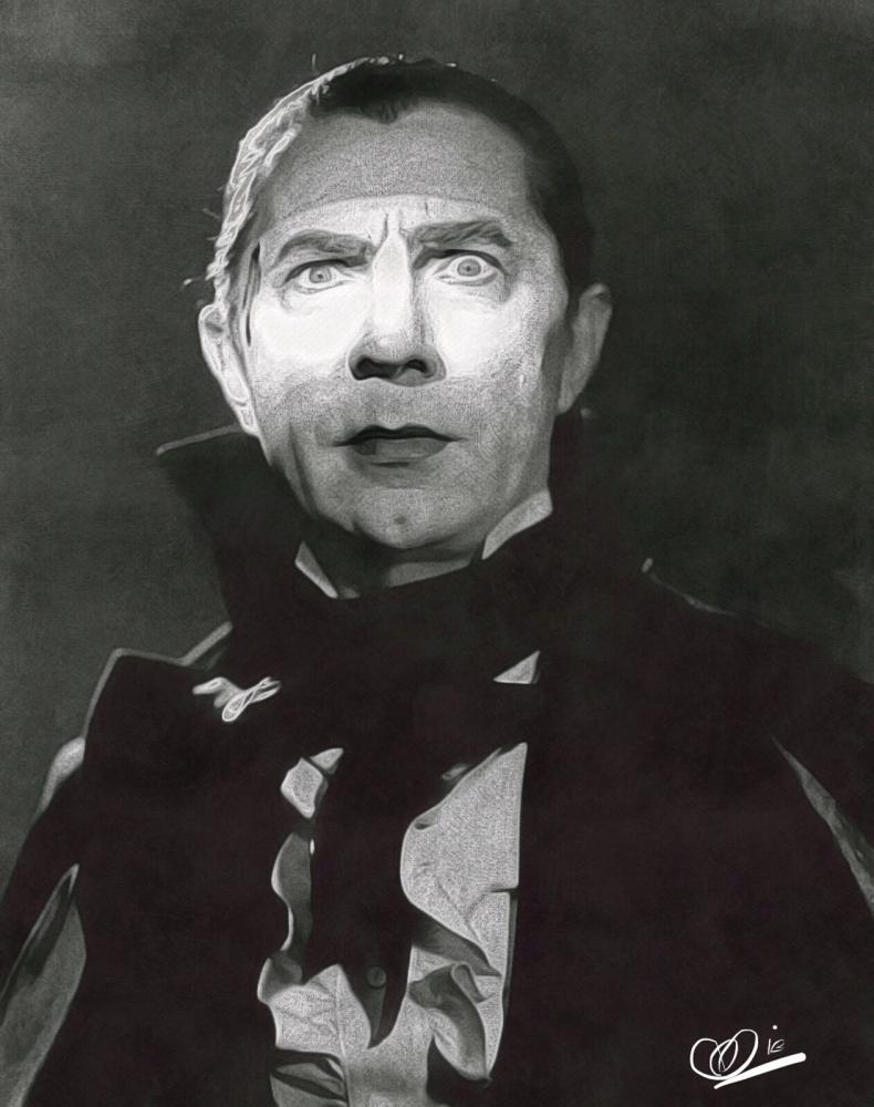 Bela Lugosi by Adzee